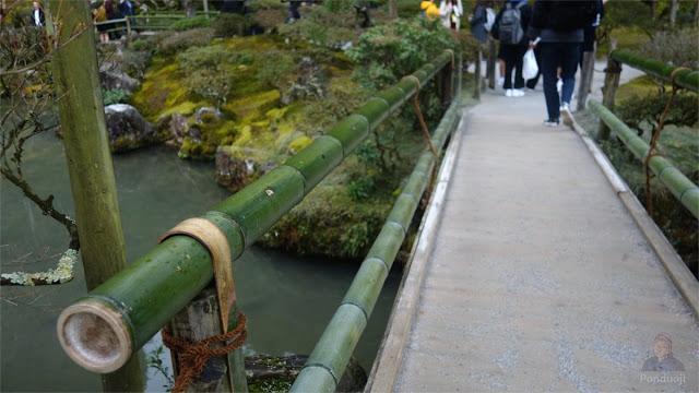 Jembatan di Ginkakuji Temple