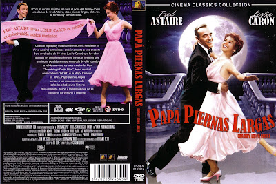 Carátula dvd - Papa piernas largas