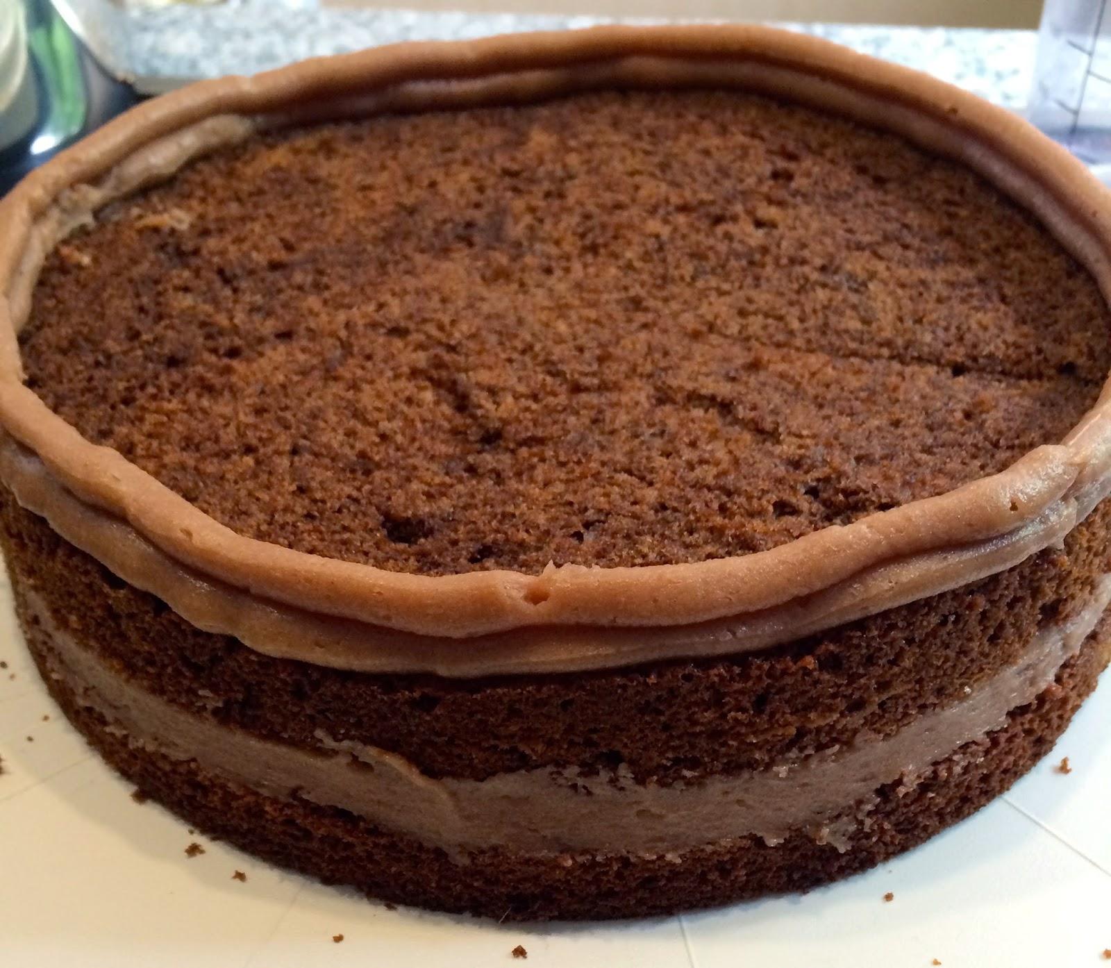 schoko creme füllung torte