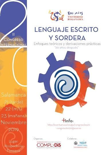 II Congreso Internacional Lenguaje Escrito y Sordera