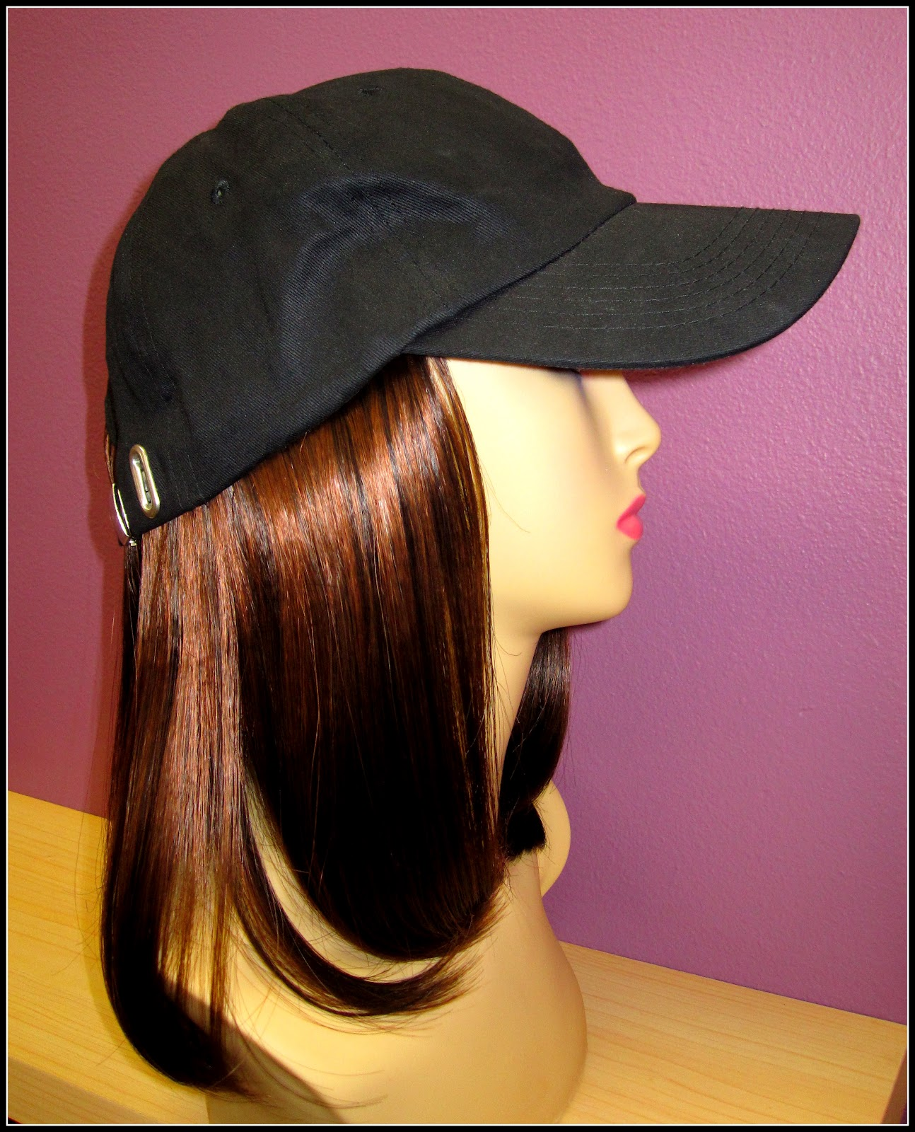 Lynne S Wig Boutique Baseball Hats With Hair Perfect For