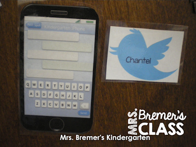 Twitter Door: a fun way for students to do shared writing!