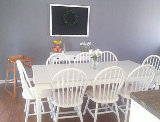 Our $68 Dining Room Makeover