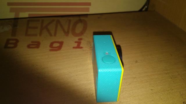 Pahami Indikator LED Xiaomi Yi - Bagian Atas