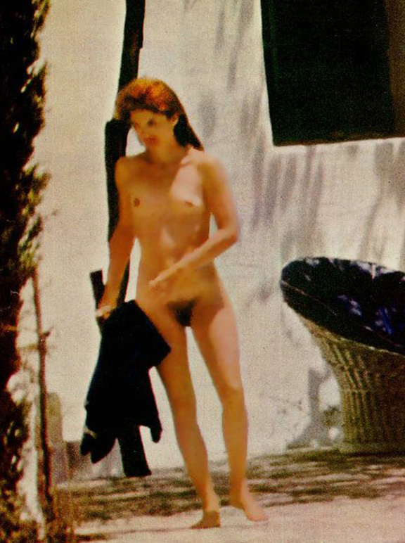 Jackie Kennedy Onassis Nude Photos