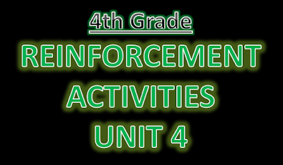 Reinforcement Exercises Unit 4