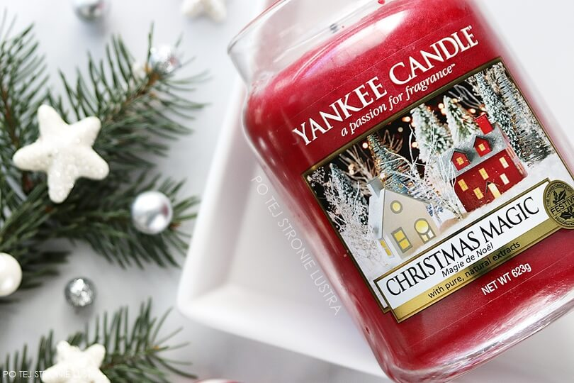 świeca yankee candle christmas magic