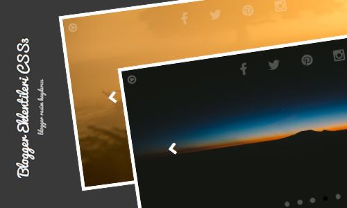 Blogger CSS3 Görüntü Slider Desteği