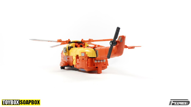 unique toys sworder helicopter mode
