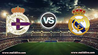 مشاهدة مباراة ريال مدريد وديبورتيفو لاكورونا Real-madrid-vs-deportivo-la-coruna بث مباشر بتاريخ 21-01-2018 الدوري الاسباني