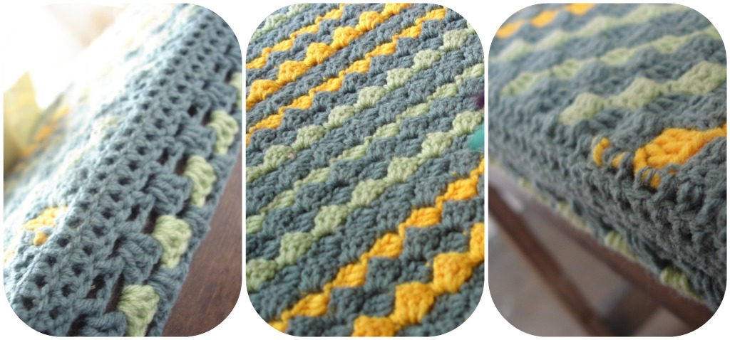 The Lazy Hobbyhopper: How to crochet diagonally - Crochet diagonal ...