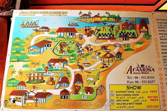 Safari Park @ A'Famosa Animal World Safari | TurnuOff on malaysia map, thailand map, disneyland map, bangkok map, lumpini park map, amusement park map, erawan shrine map, drayton manor theme park map, cambodia map, zoo map, singapore map,