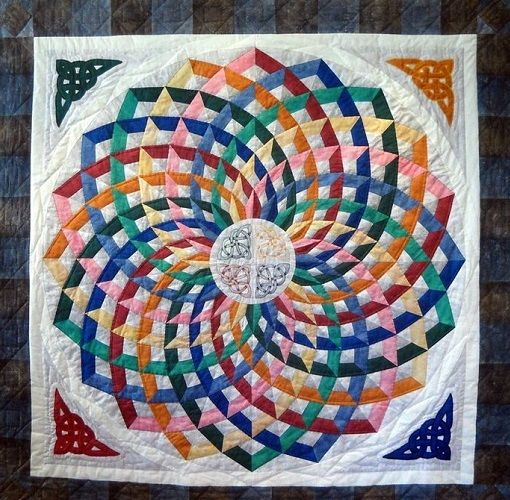 Dancing Ribbons Quilt Free Pattern
