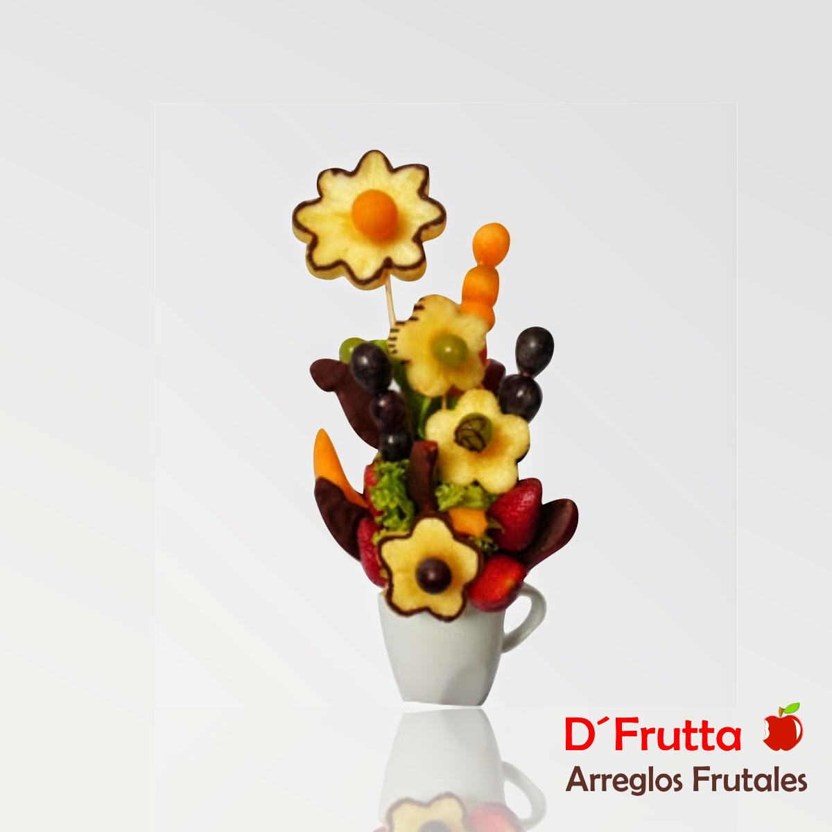 Flores De Fruta D Frutta Arreglos Frutales
