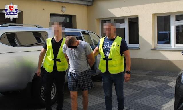 Chełm: Próbował przejechać policjanta