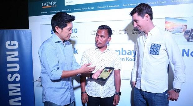 Samsung dan Lazada Dukung Pendidikan Anak-anak Maluku