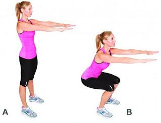 Cara Melatih Otot Paha dengan Variasi Latihan Squat