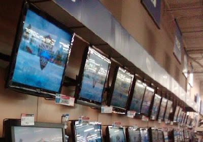Liquidación de televisores