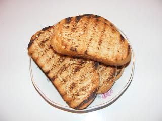 Paine prajita pe tabla retete culinare,