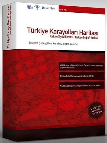 Türkiye Karayolları Haritası 2011 Full
