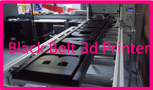 Black Belt 3d Printer