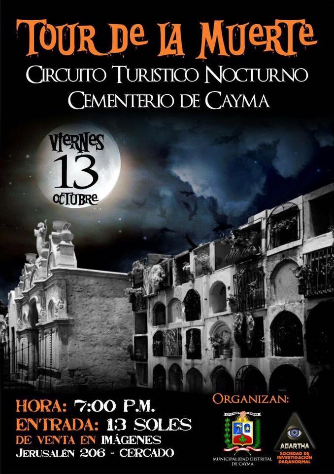 Tour de la muerte, Circuito turístico Cayma - 13 de octubre