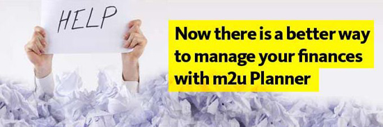 Maybank Malaysia introduces New M2U Planner - Selina Wing - Deaf