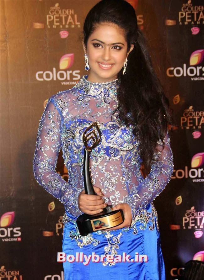 Avika Gor Colors Tv 3rd Golden Petal Awards, Colors Tv 3rd Golden Petal Awards
