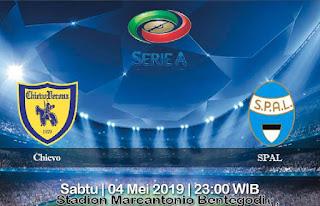 Prediksi Chievo vs SPAL 4 Mei 2019