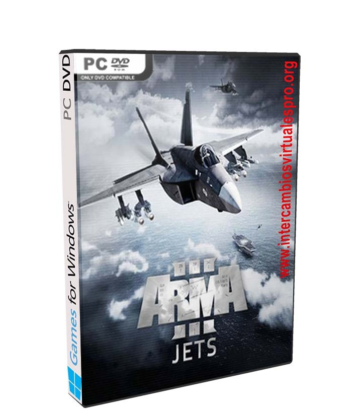 Arma 3 Jets poster box cover