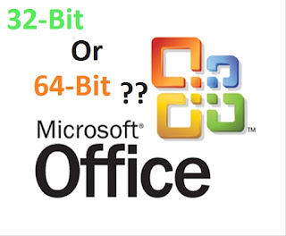Microsoft Office 32bit or 64 Bit?