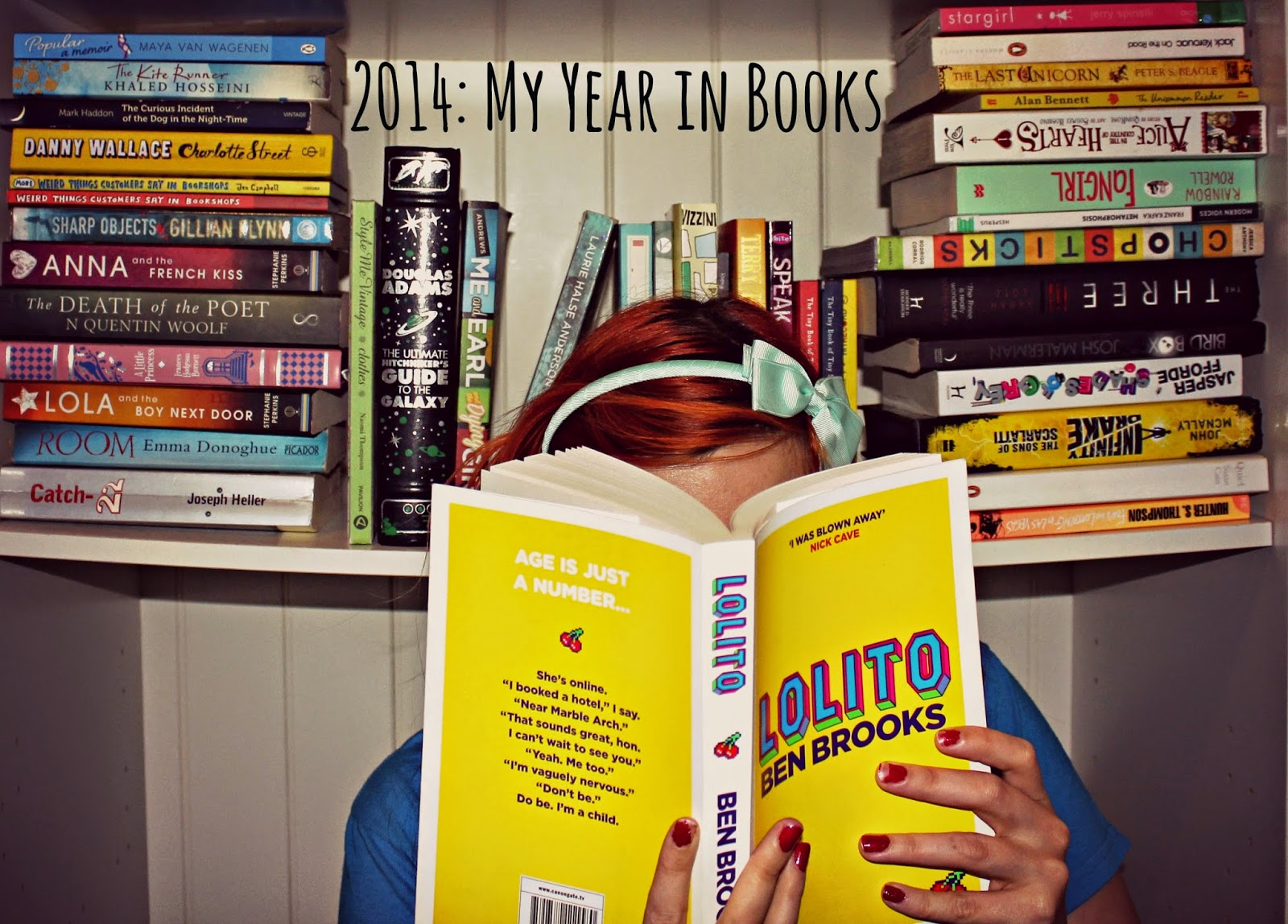 2014: My Goodreads year in books!