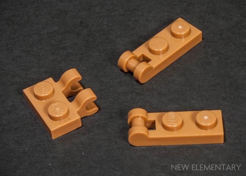 Lego Part 6167641 Round Plate 1x1 X 10 Medium Nougat