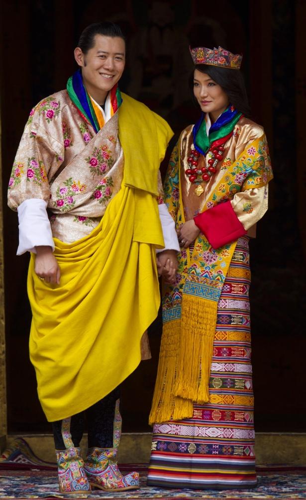Wedding Wednesday A Royal Wedding In Bhutan