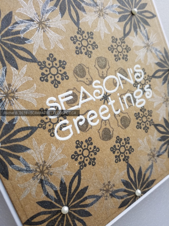 Handmade card, Christmas, Haro Arts, Wreath builder