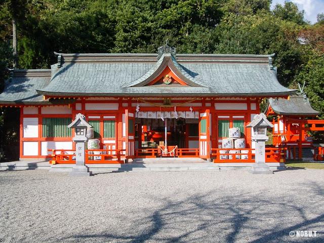 和歌山県新宮市「阿須賀神社」の拝殿