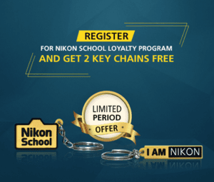Get 2 Free Key Chains From Nikon