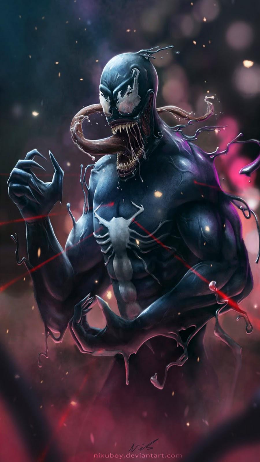 Papel de parede Venom para Celular