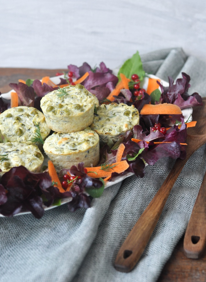quickly made and oh-so good - gluten free Courgette-Muffins