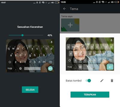 Merubah Background Foto Pada Papan Ketik Atau Keyboard Di Android