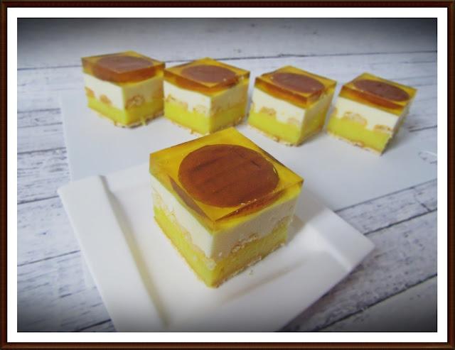 Ciasto Cytrynowo - Pomarańczowe