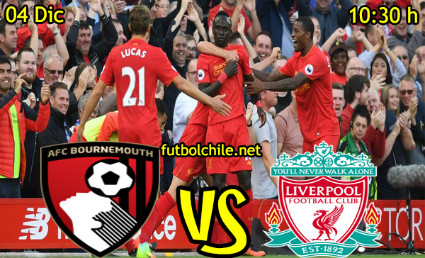 Ver stream hd youtube facebook movil android ios iphone table ipad windows mac linux resultado en vivo, online: Bournemouth vs Liverpool
