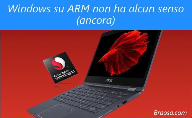 Windows con processori ARM di classe smartphone