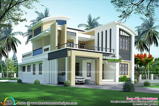3108 sq-ft modern house