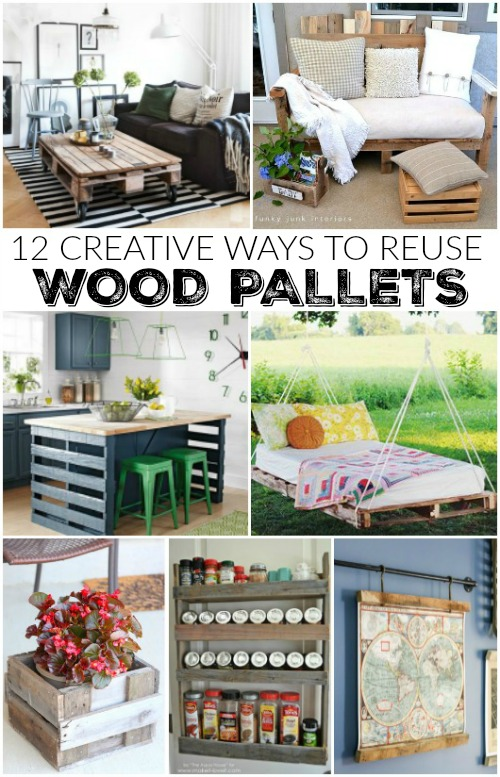 12 creative ideas to use wood pallets