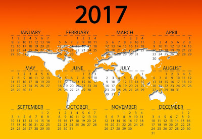 Happy New Year 2017 Calendar Images Free Download