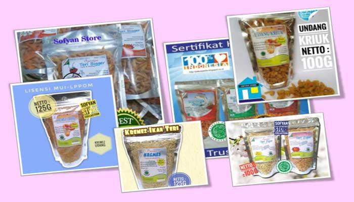 Sofyan Store Produsen Camilan Terri Crispy Khas Pamekasan Madura