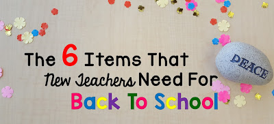6 Winning Items That New Teachers Need For The New Year