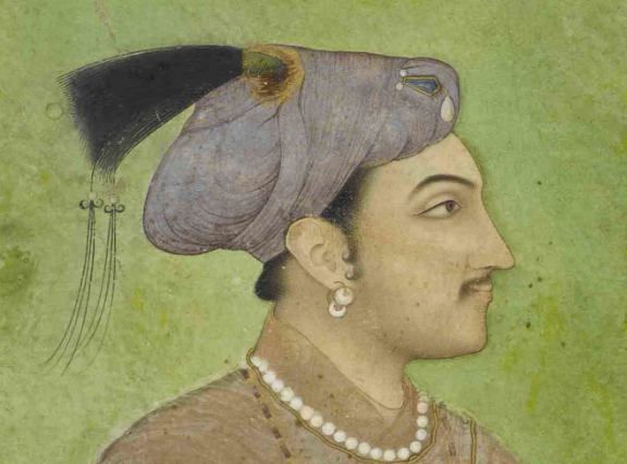 Jahangir when he was young
