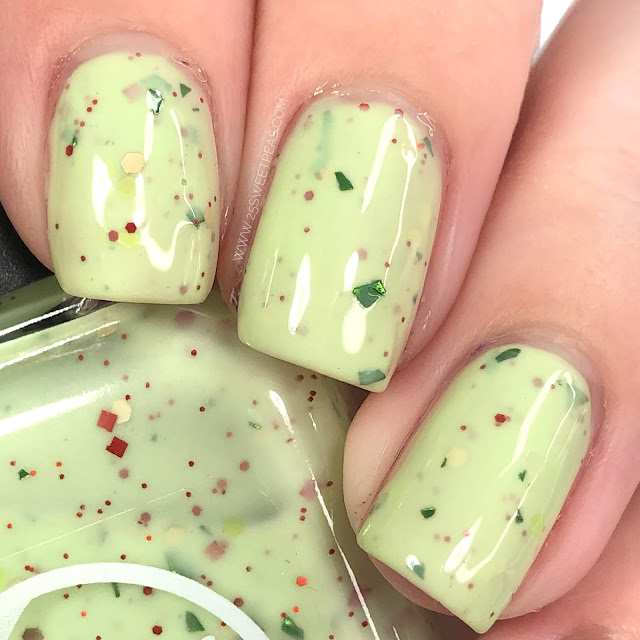 Moon Shine Mani The Grinch